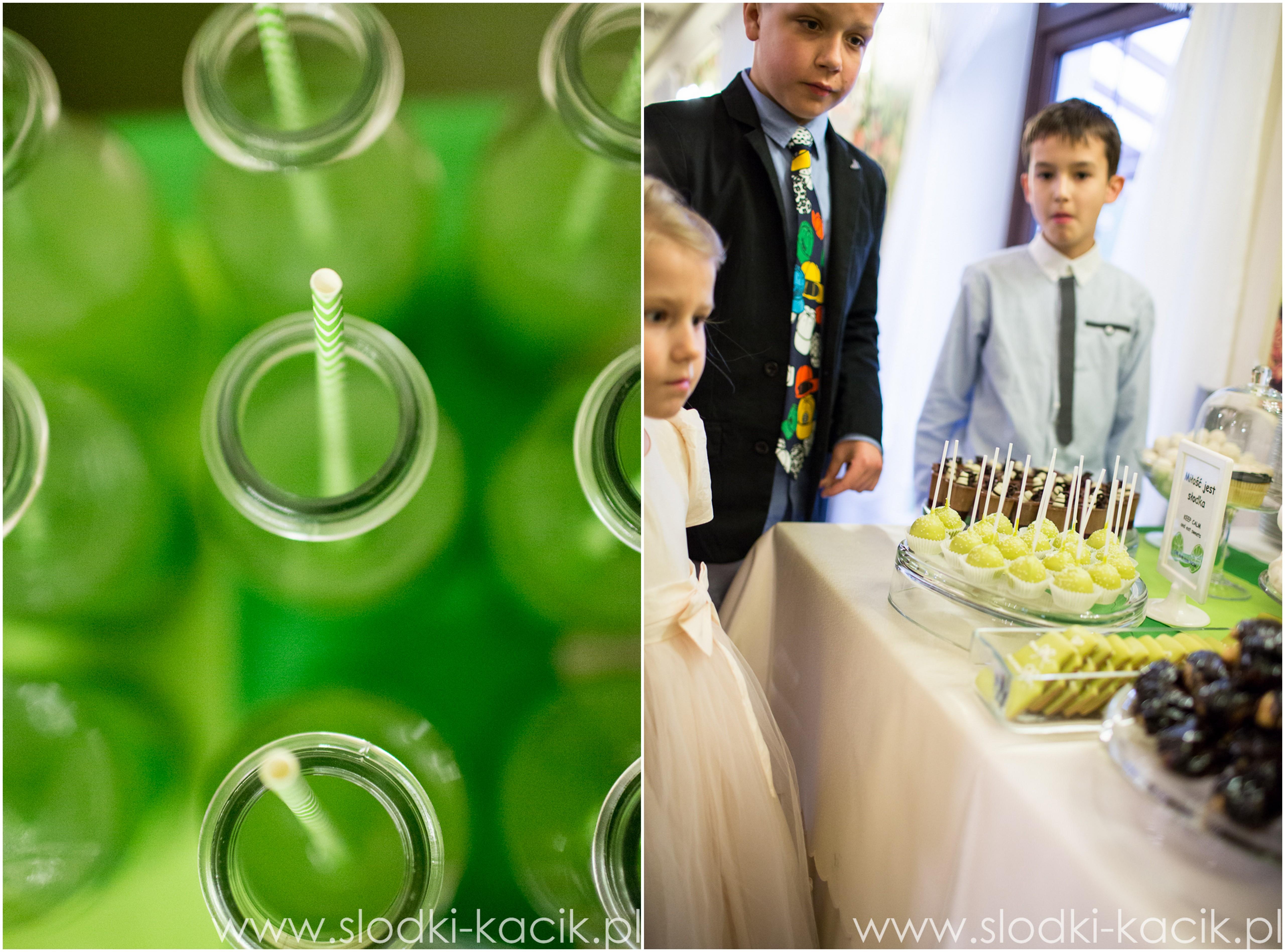 Słodki Kącik limonka, słodki stół, słodki bufet, candy bar, tort weselny, ciasto wesele, ślub, pavlova, ciasteczka, słodycze, lizaki, buteleczki, cakepop, cupcake,  popcorn (5)