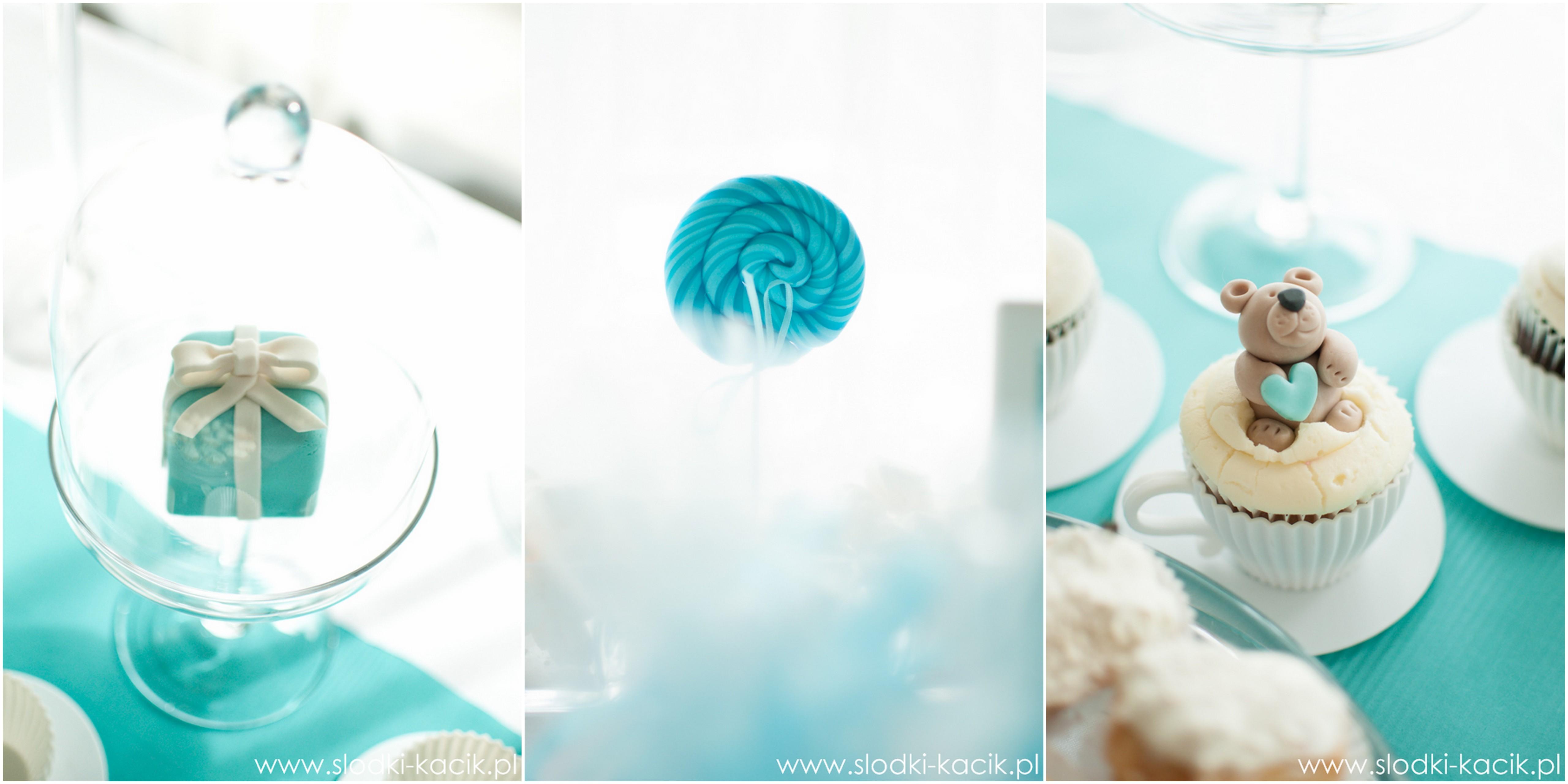 Słodki Kącik tiffany blue, słodki stół, słodki bufet, candy bar, tort weselny, ciasto wesele, ślub, pavlova, ciasteczka, słodycze, lizaki, buteleczki, cakepop, cupcake,  popcorn (4)