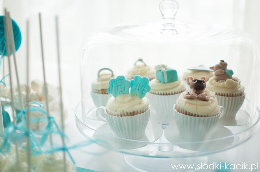 Słodki Kącik tiffany blue, słodki stół, słodki bufet, candy bar, tort weselny, ciasto wesele, ślub, pavlova, ciasteczka, słodycze, lizaki, buteleczki, cakepop, cupcake,  popcorn (6)